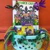 """Carnival"" Mardi Gras Basket"